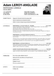 11 Exemple De Cv 3eme Au Collège Cv Pour Le Stage De Troisième