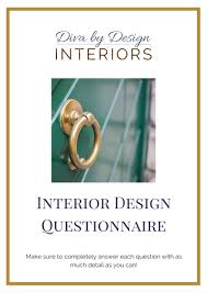 Interior Design Questionnaire by The Diva U0027s Home U2013 Designing Your Home For Happiness