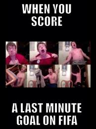 Last Minute Meme - last minute goal on fifa fansfoot you ll never laugh alone