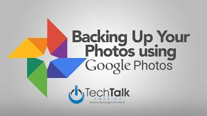 back up your photos with google photos youtube