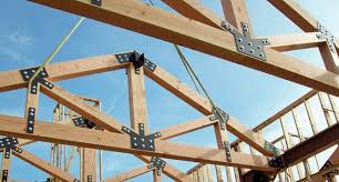prefabricated roof trusses roof truss spacing