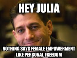 Suggestive Meme - hey julia it s paul ryan theblaze