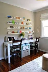 Small Office Desk Ideas 30 Shared Home Office Ideas That Are Functional And Beautiful