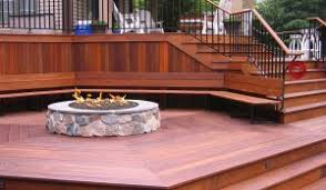 wooden deck outdoor living space luxury best new fence