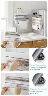 Wrapping Paper Wall Mount Plastic Paper Towel Holder Wall Mount Towel