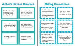 thanksgiving activities for 3rd grade guided reading prompts and questions to improve comprehension