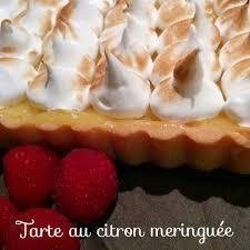 cuisine tarte au citron tarte au citron meringuée bienvenue chez fatima