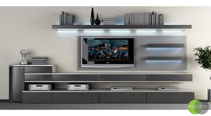 bedroom design for lcd tv wall unit with lighting and interior