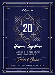 20 year wedding anniversary wedding anniversary greetings 9 free psd vector ai eps format