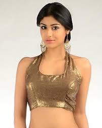 halter neck blouse saree 2013 halter neck blouse pattern and readymade saree