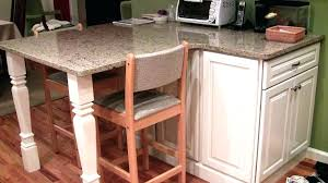 kitchen islands with posts kitchen island with legs custom cut legs to fit your kitchen island