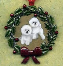 lovable bichon frise dog ornament personalized new breed