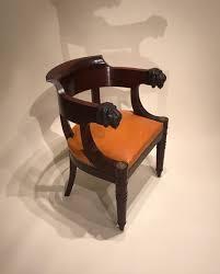 bureau en acajou achat vente sièges fauteuil de bureau en acajou attribué à jacob