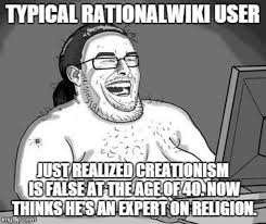 Meme Encyclopedia - rationalwiki creationism atheism know your meme