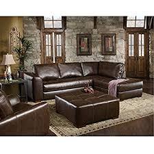 Amazoncom Chelsea Home Furniture Fairfax Piece Sectional - Chelsea leather sofa