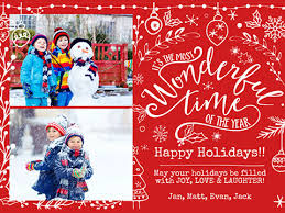 christmas picture cards personalized online christmas cards smilebox