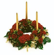 picture of christmas centerpieces with candles all can download