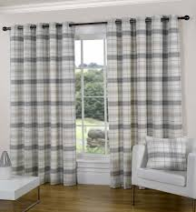 Tartan Drapes Ready Made Curtains Texcraft From Linen Lace And Patchwork