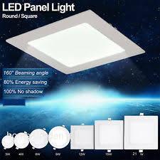 Led Ceiling Panel Lights Led Flat Panel Light Ebay