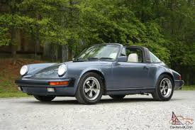 1986 porsche targa for sale porsche 911 targa g50 original w records venetian blue rare no