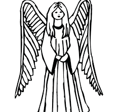 coloring pages printable for free angel coloring pages printable fotosbydavid com