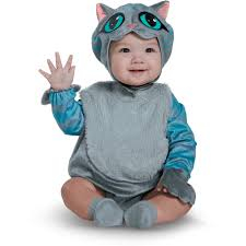 12 Month Halloween Costumes Boy Disney Alice Glass Cheshire Cat Classic Child