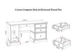 Pine Corner Hutch Desk Distressed Corner Computer Desk Black Kidney Bean Desk
