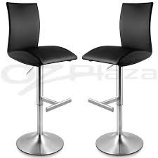 Black Bar Stools With Back Furniture Leather Dark Black With Height Back Chairs Bar Stools