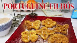 filhós de natal portuguese christmas recipe with my grampa