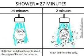 Meme Shower - whenever i take a shower who else by treetopwaffles meme center