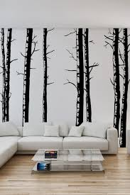 wall decals of birch trees idecals co