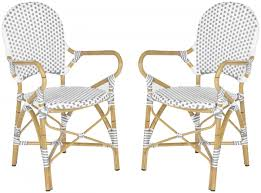 European Bistro Chair Fox5209b Set2 Dining Chairs Outdoor Dining Chairs Outdoor Home
