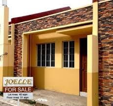 Row House Model - de claro punzalan compound batangas properties