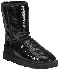customise your ugg boots for free this autumn global blue ugg australia black sequin uggs boots booties size us