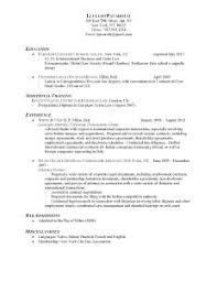 Example Of An Excellent Resume by Examples Of Resumes Job Resume Sample Psychologist Sle