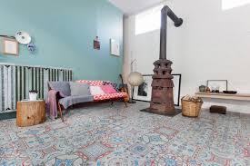 cuisine carreau ciment décoration carreaux de ciment adhesif carreaux deco maison créative