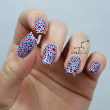 dotting tool nail art designs spotty nail art dotting tool