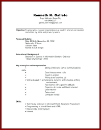 exle resume for high school student this is no experience resume template resume template for high
