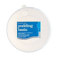 Pudding Basins With Lids Kitchen Craft Plastic Pudding Basin Lid 570ml From Ocado