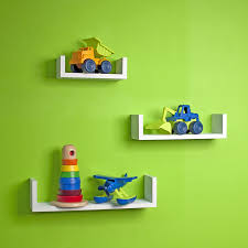 amazon com danya b xf11039w set of 3 floating u shelves finish