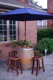 Barrel Bar Table with Wine Barrel Bar Stools Plans Tags Wine Bar Stools Barrel Bar