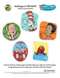 cat in the hat halloween the cat in the hat printable activities pbs kids