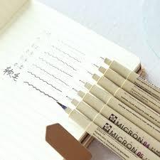 line drawing pen water soluble cartoon graffiti art supplies