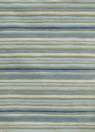 Stripe Area Rug Bold Blue Striped Wool Blend Dhurrie Rug Crate And