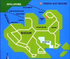 map batam cheap discounted batam indonesia golf package budget batam