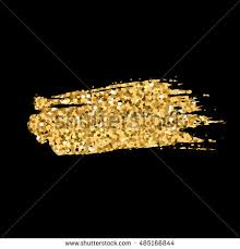 pile golden sand yellow metal gold stock vector 494570848