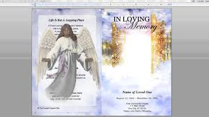 Free Funeral Programs Digital Clipart Illustration Images For Funeral Youtube