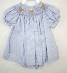 412089 a088 baby clothes smocked dresses smocked bishop