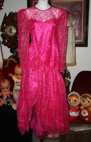 80s Prom Dress Size 12 Vintage 80 U0027s Prom Dress Gown Pink Puffy Sleeves Bow 80 S Prom