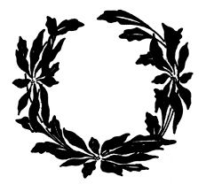 vintage christmas clip art poinsettia wreaths poinsettia
